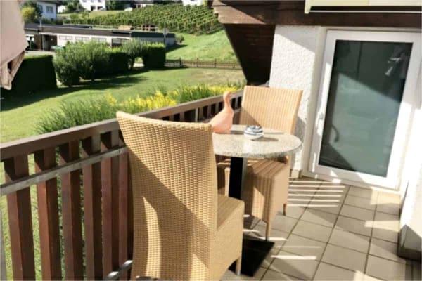 Kleiner Balkon, FeWo Kalverkamp