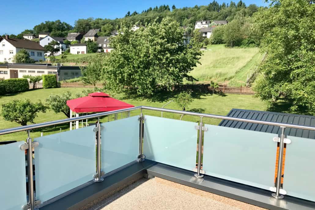 Terrassen Ausblick in die Natur